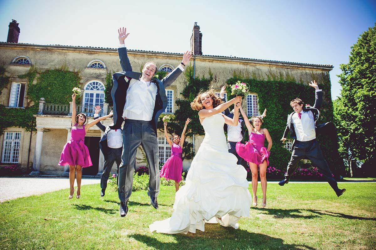 Bride & Groom's Team for an english wedding